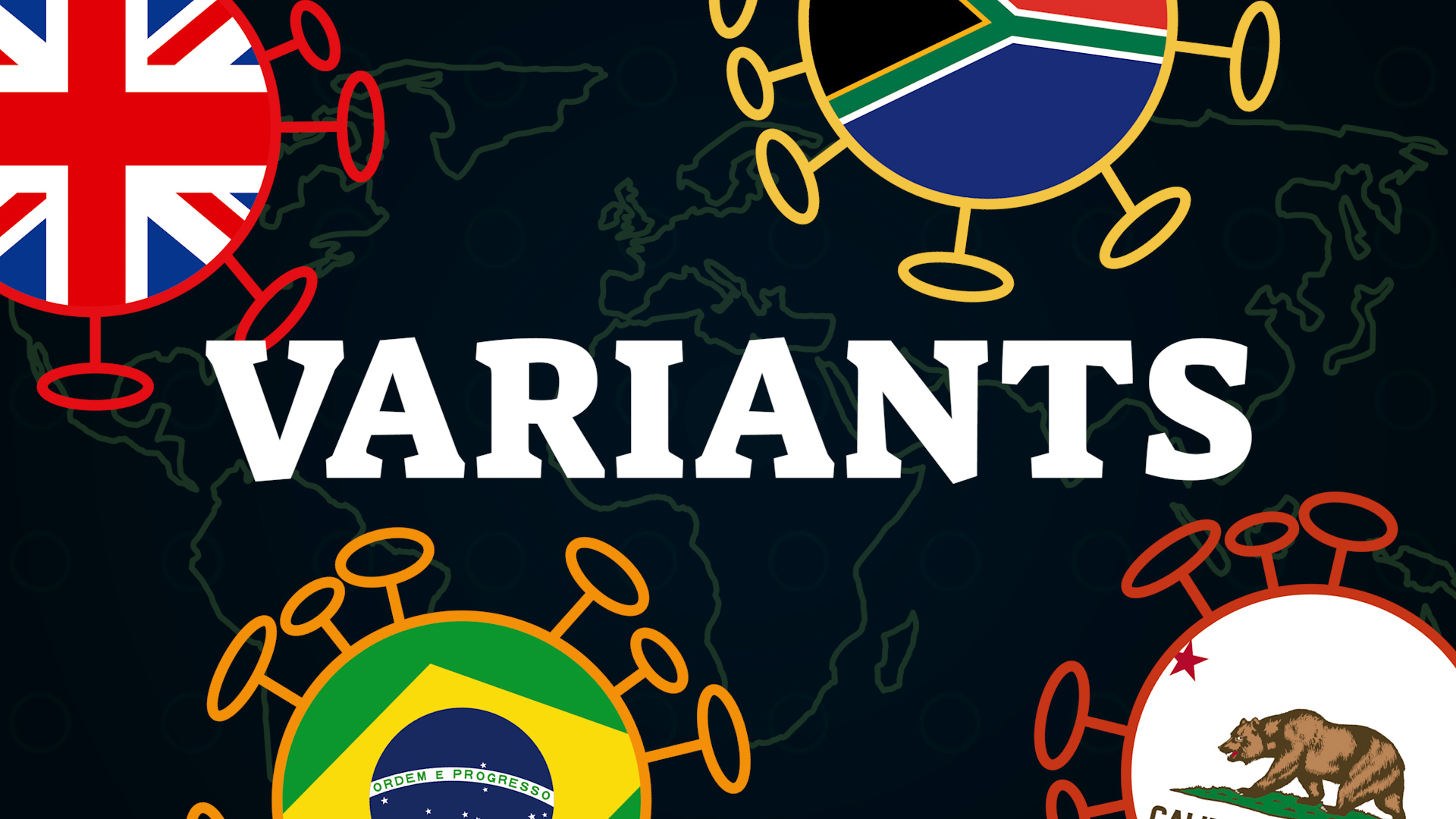 Coronavirus : tout comprendre aux variants (mutations, vaccins...)
