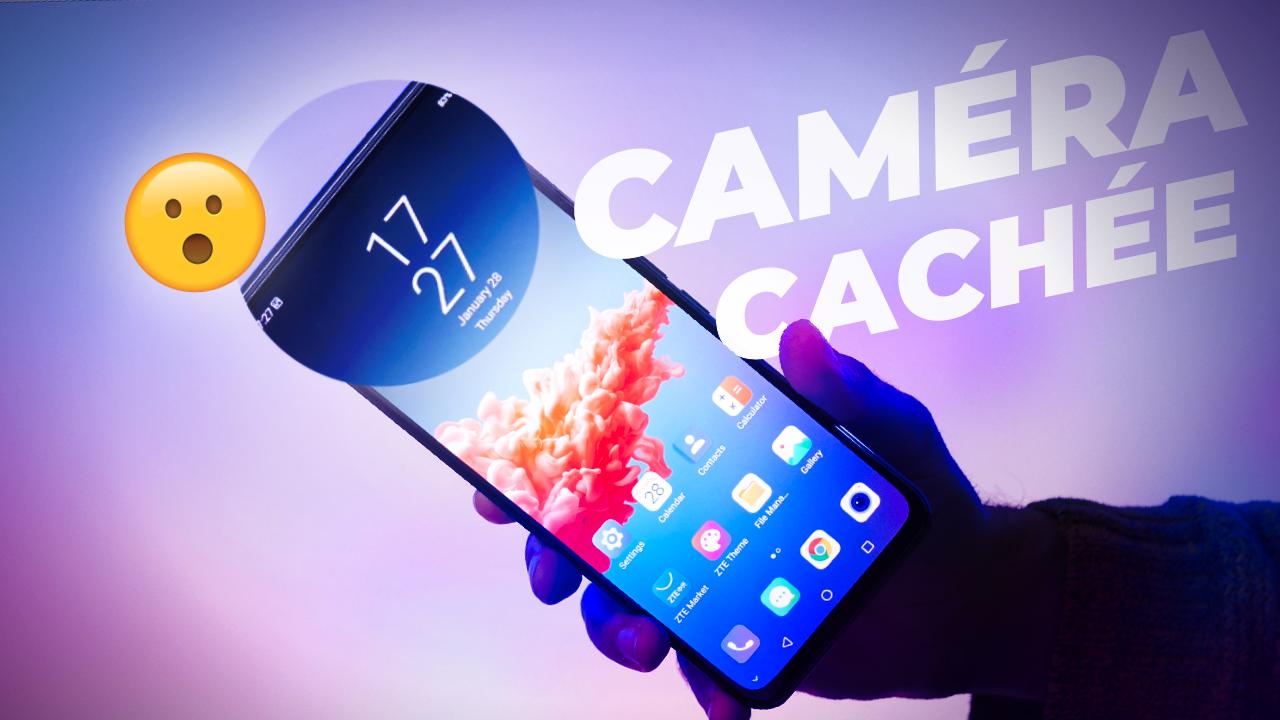 On a TESTÉ le premier smartphone avec caméra selfie SOUS L'ÉCRAN ! (et c'est pas terrible)