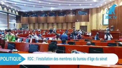 RDC : Installation des membres du bureau d'âge du Senat