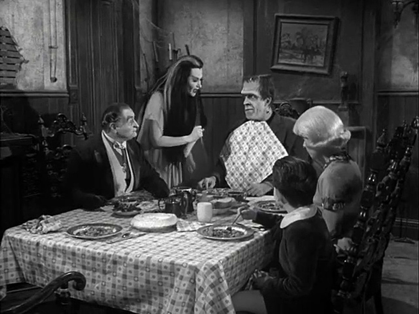 Hermans Dance Lesson | The Munsters