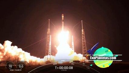 SpaceX lanza más satélites de la constelación Starlink