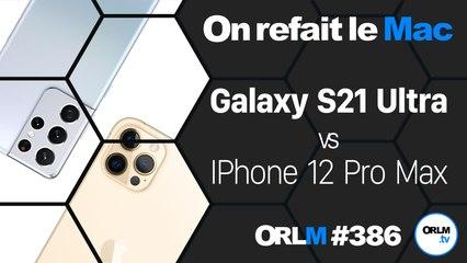 Samsung Galaxy S21 ULtra VS iPhone 12 Pro Max⎜ORLM-395