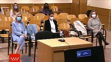 El juicio del caso Máster contra Cristina Cifuentes queda visto para sentencia