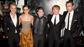 "The ""Harry Potter"" Cast: Then & Now"