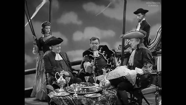 Captain Kidd (1945) | Full Movie | Charles Laughton, Randolph Scott, Barbara Britton part 2/2