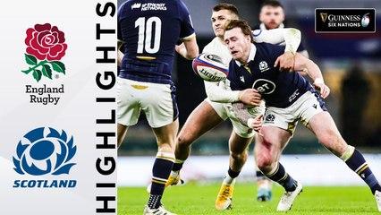 England v Scotland - HIGHLIGHTS | Historic Calcutta Cup Clash! | Guinness Six Nations 2021
