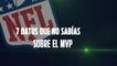 7 datos que no sabías sobre el MVP: NFL
