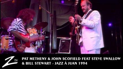 Pat Metheny & John Scofield feat Steve Swallow & Bill Stewart - Jazz à Juan 1994 LIVE