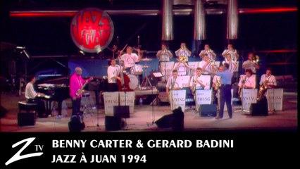 Benny Carter & Gerard Badini feat le Super Swing Machine - LIVE Jazz à Juan 1994