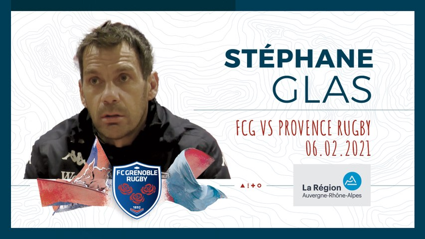 Rugby : Video - ITW STEPHANE GLAS