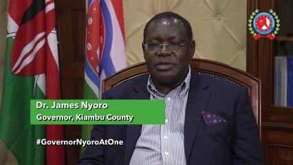 Governor Dr. James Nyoro on Covid19 in Kiambu County