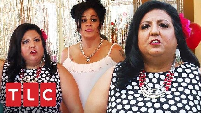 Madre de la novia arma escándalo para impedir la boda   Mi Gran Boda Gitana   TLC Latinoamérica