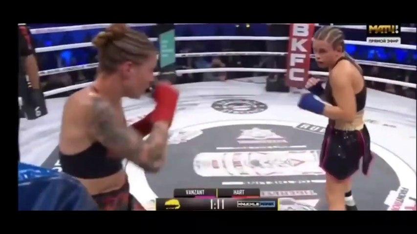 Paige VanZant vs Britain Hart Full Fight - Британ Харт против Пейдж Ванзант