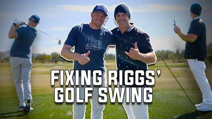 George Gankas Fixes Riggs' Swing