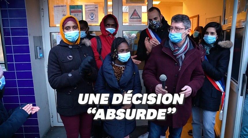 À Paris, une école fait bloc pour Fatimate, menacée d'expulsion