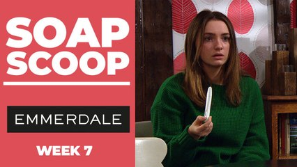 Emmerdale Soap Scoop! Gabby discovers she's pregnant