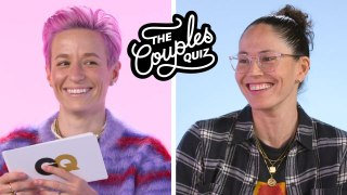 Megan Rapinoe & Sue Bird Ask Each Other 43 Questions