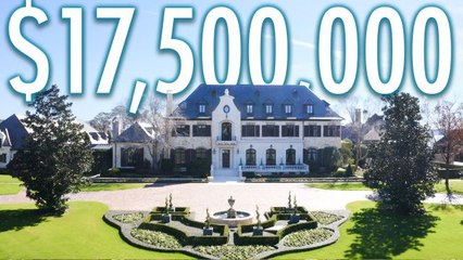 Inside A $17.5M Estate With A Go Kart Track & Bowling Alley