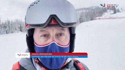 Backstage Jour 2  - Championnats du Monde de Ski Alpin - Cortina