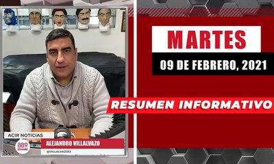 Resumen de noticias martes 9 de febrero 2021 / Panorama Informativo / 88.9 Noticias