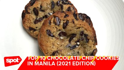 Where to Get the Best Chocolate Chip Cookies in Manila