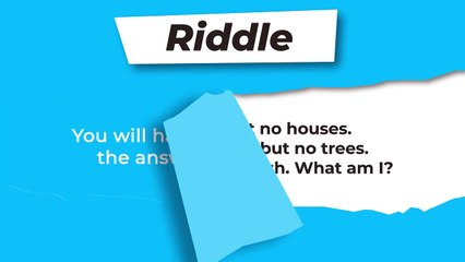 Riddle : Cities without houses