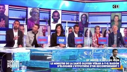 """TPMP : Jimmy Mohamed """"inquiet"""" par les propos d'Olivier Véran sur le reconfinement (vidéo)"""