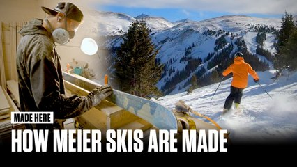 Made Here: How Meier Skis Are Made