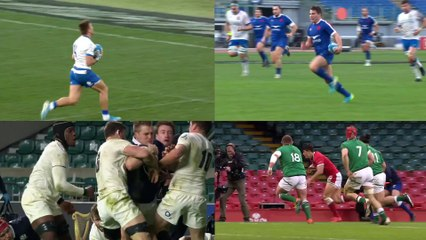Dupont? Sperandio? Rees-Zammit? | Try of the Round Nominees | 2021 Guinness Six Nations