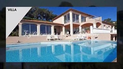 Vente villa 7 pièces Sainte-Maxime avec Vue Mer, piscine et