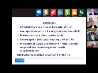 Lancaster District Homes Strategy 2020 -  2025 -  Presentation by Kathy Beaton