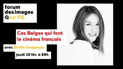 Rencontre avec Émilie Dequenne — Les ciné-débats de la Sorbonne