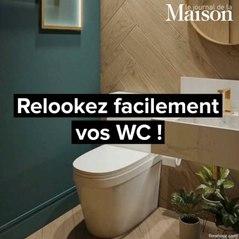 Relookez facilement vos WC !