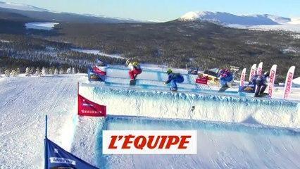 Déception pour Trespeuch à Idre Fjall - Snowboard - Mondiaux (F)