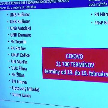 Očkovanie učiteľov - TK ministrov Mareka Krajčího a Branislava Gröhlinga