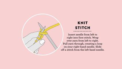 How To Knit Stitch