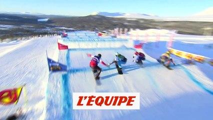 Surget septième à Idre Fjall - Snowboard - Mondiaux (H)