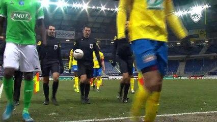 Le résume de FCSM-AS Saint-Etienne en Coupe de France (1-0)