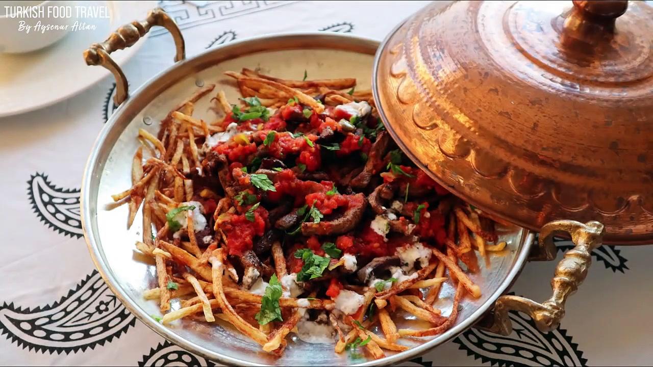 Turkish Steak Kebab With Potatoes