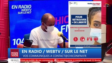 Chiconi FM TV - Avec la revue d'actualité de ce vendredi 12 février 2021.