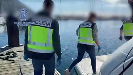 Recuperan en La Línea un yate de lujo robado en Francia