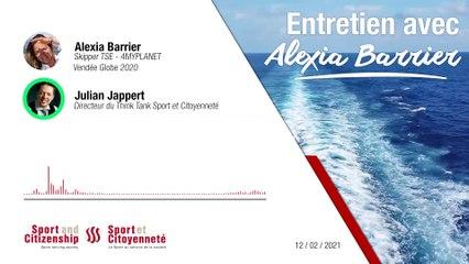 Interview Julian Jappert et Alexia Barrier, skippeuse du Vendée globe