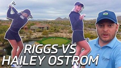Riggs Vs Hailey Ostrom At Grayhawk Golf Club, 17th Hole (Talon Course)