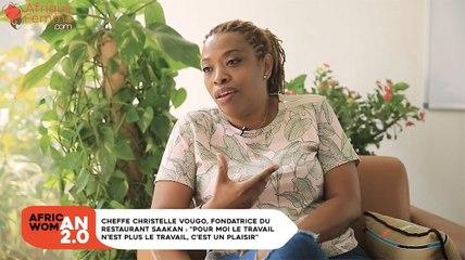 """Cheffe Christelle Vougo, fondatrice du restaurant Saakan : """"Pour moi le travail n'est plus le travail, c'est un plaisir"""""""