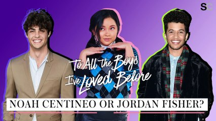 Noah Centineo or Jordan Fisher - Lana Condor - To All The Boys I've Loved Before
