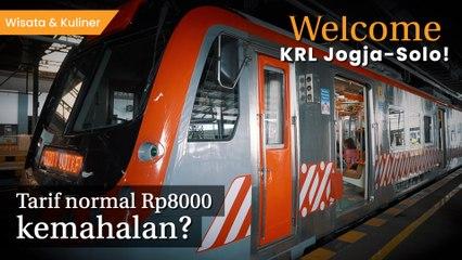Panduan Naik KRL Jogja-Solo yang Resmi Beroperasi dengan Tarif Rp8.000