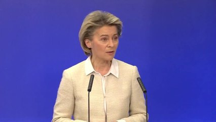 Ursula von der Leyen welcomes approval of Recovery and Resilience Facility RRF #NextGenerationEU