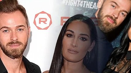 Nikki Bella is horrified to see Matteo with father, Artem Chigvintsev