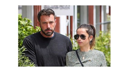 Ana de Armas shares how she overcame Ben Affleck's farewell, listening to 'You S