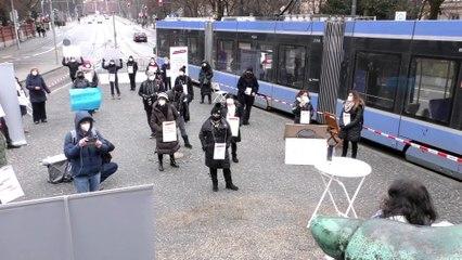 #beautybranchestehtauf Demo in München - KosmetikerInnen gegen die weitere Schließung ihrer Betriebe